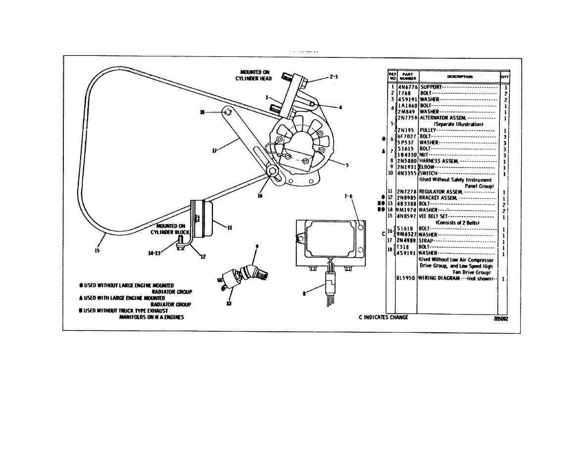 cat 3126 alternator wiring diagram