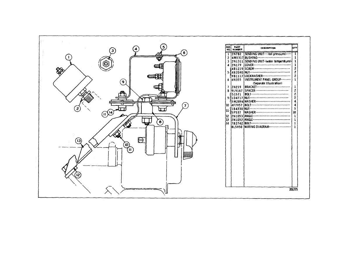 fuel filter diagram for c13