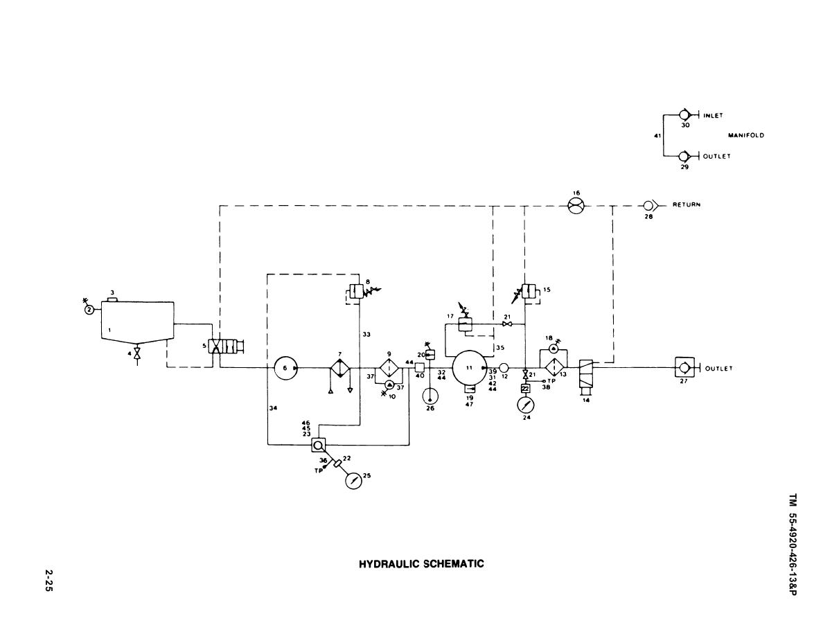 hydraulic press electrical schematic
