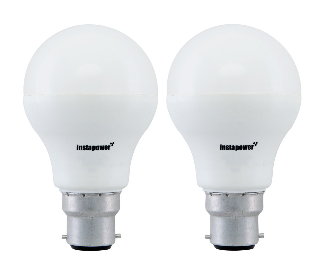 9 Watt Led Instapower Base B22 9 Watt Led Bulb Pack Of 2 Only For