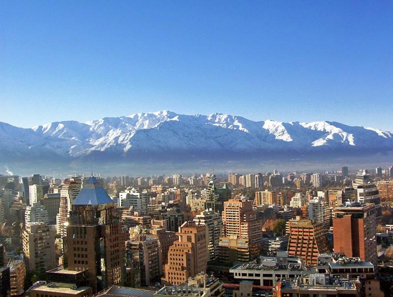 산티아고의 풍경(출처: wikipedia commons)