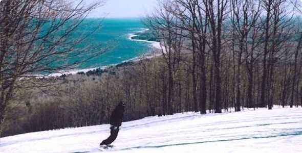 Full Frame Half Frame Porcupine Mountains Ski Area Michigan Ski Snowboard Report