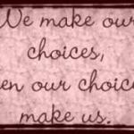 (New Blog Post) The Analysis of 'Choice' #SelfLoveSatuday