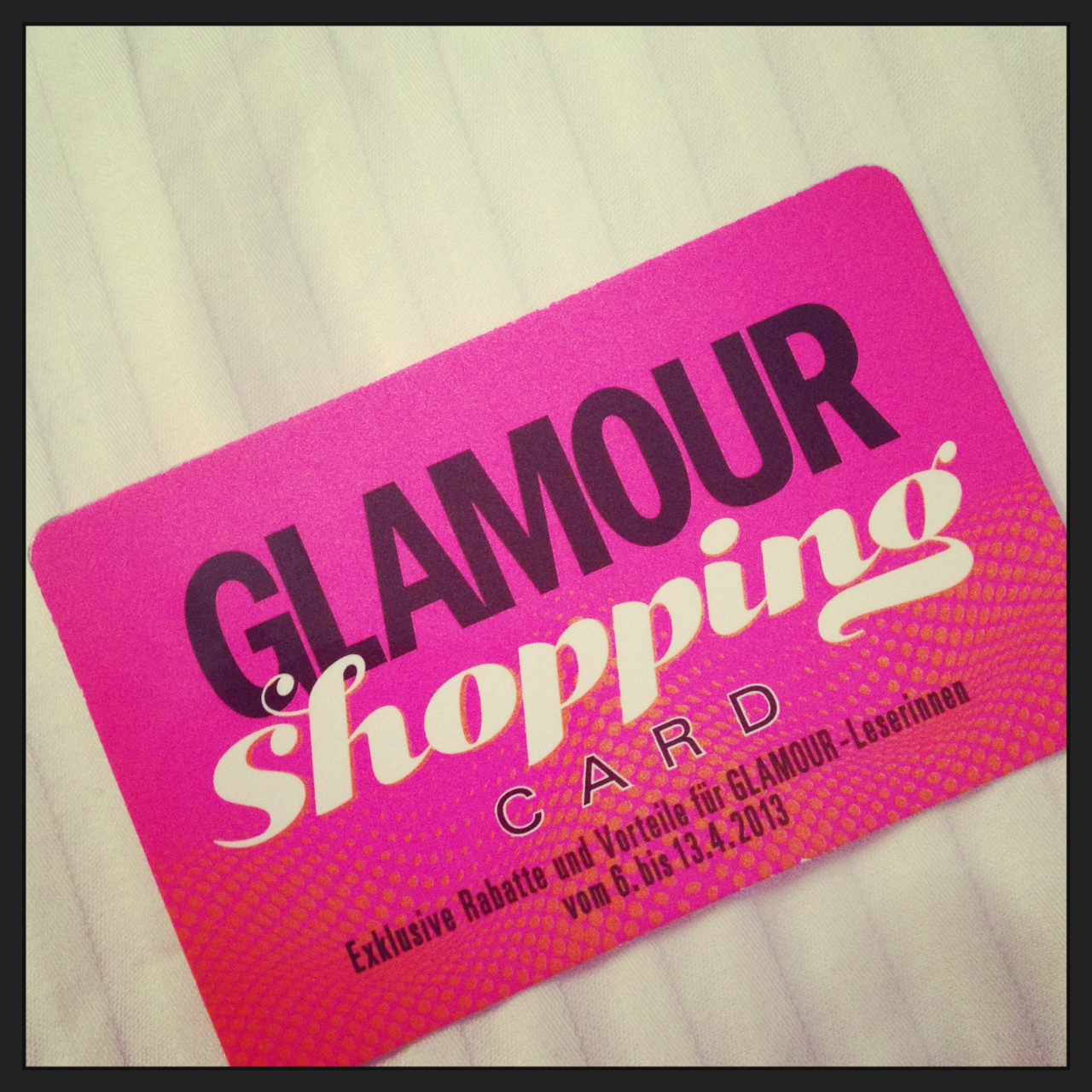 Glamour Gutschein Glamour Shopping Week Thomas Sabo