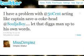 miss dimplez tweet