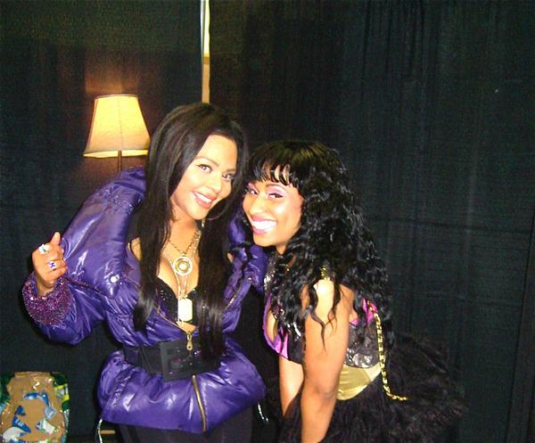 nicki minaj and lil kim together