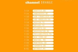 frank ocean channel orange tour dates