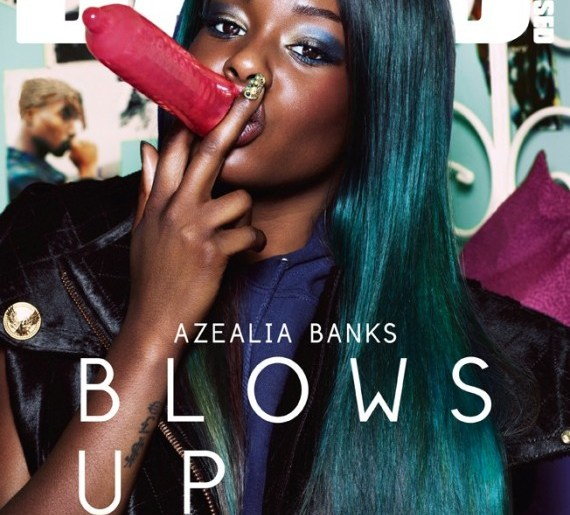 azealia banks condom dazed n confused cover