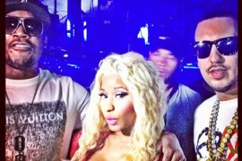nicki minaj french montana ovo fest 2012