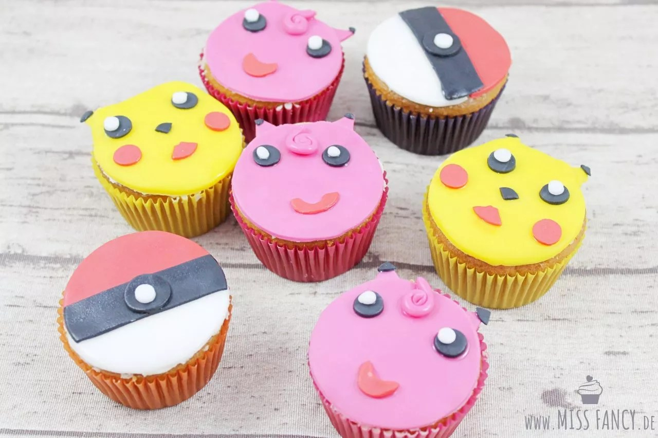 Pokemon Kuchen Rezept Pokemon Muffins Mit Fondant Miss Fancy Lifestyle Blog