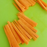 How to Julienne a carrot