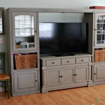 Entertainment Center Makeover