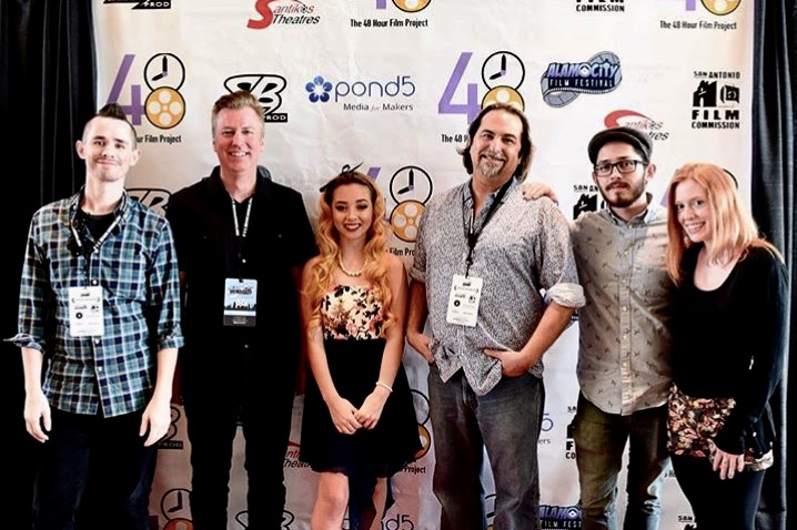 Braver Than You Believe filmmakers at the Alamo City Film Festival