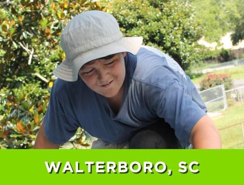 Walterboro, SC – June 11-18, 2016