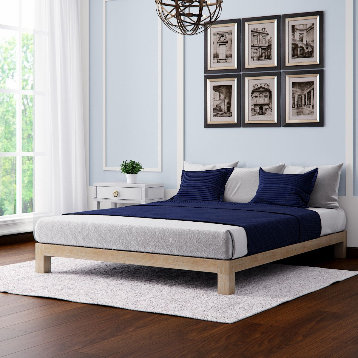 Low Bed Frames Canada Basic Bed