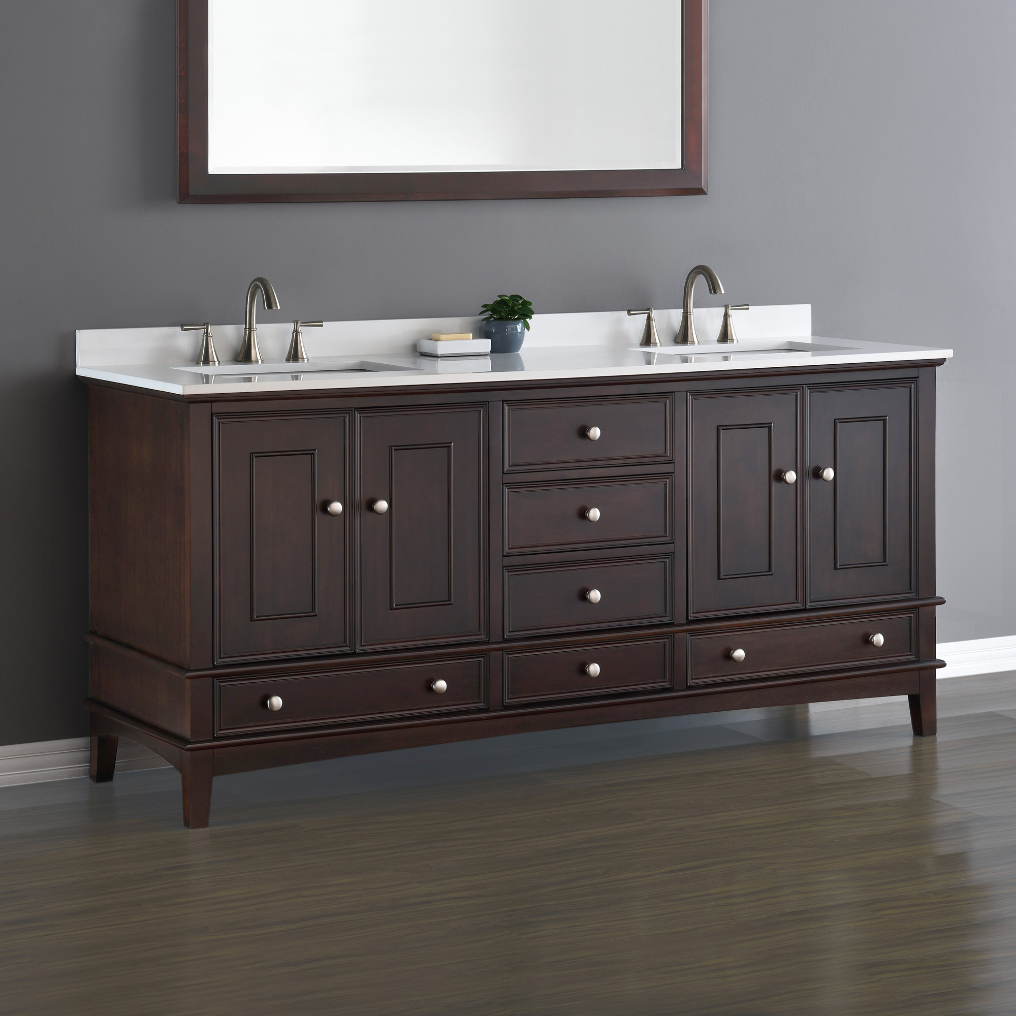 Bathroom Vanity 72 Double Sink Cambridge 72