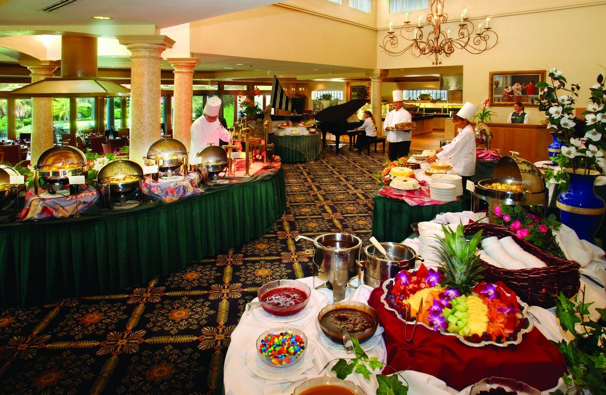 Brunch Buffet Breakfast Restaurant In Lake County Fl La Hacienda At Mission Inn