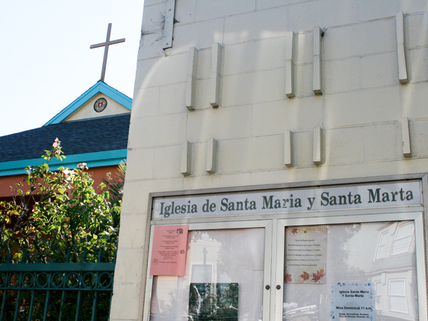 St. Mary and St. Martha Lutheran Church on South Van Ness