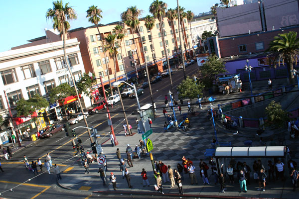Mission and 16th from above. By Nancy Lopez