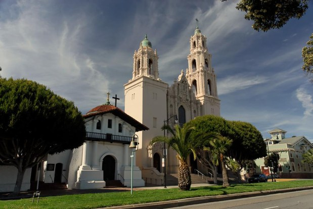 Mission Dolores. Courtesy of Michel Mintaka, Flickr Creative Commons.