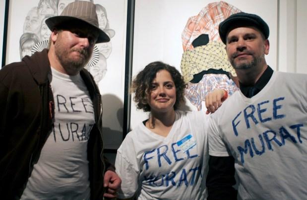 Fellow street vendors unite for Murat.