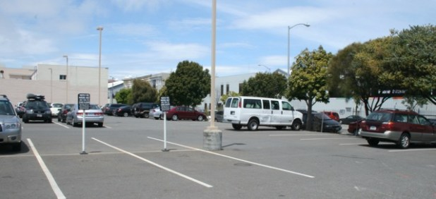 17th and Folsom Parking Lot on Wednesday afternoon.