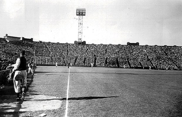 Seals Stadium The View from Right Field (Photo: Greg Gaar Collection, San Francisco, CA)