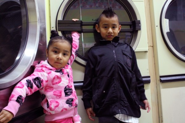 Valeria Sanchez hopes to transform into Tinkerbell when she grows up. Her brother Diego is keeping his options open.