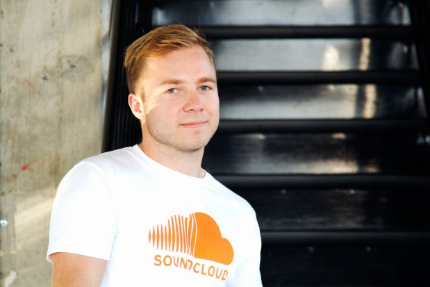 Henrik Lenberg, Head of Platform at SoundCloud, inside the new U.S. office on Treat Avenue.