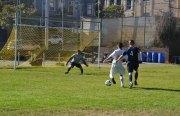 Lopes breaks away to score.
