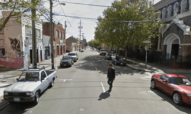 15th and Caledonia streets. Screenshot via Google maps.