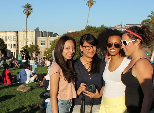 Lisette Mejia, Jessica Lum, Fay Abuelgasim and Hadley Robinson