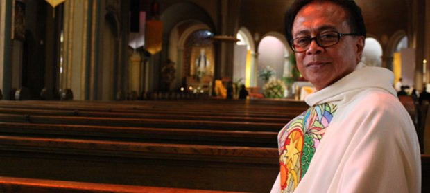 Rev. Arturo L. Albano of Mission Dolores Basilica Parish. Photo by Steve Saldivar