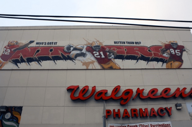 Walgreens on 23rd and Mission streets.