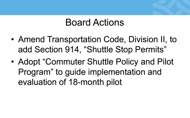 Presentation by Carli Paine to the SFMTA.