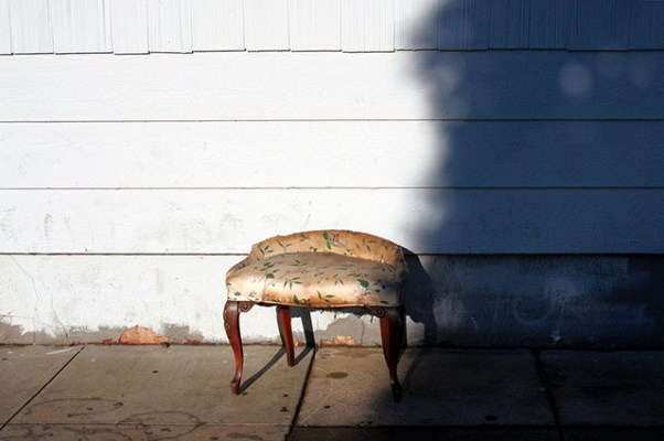 Footstool: Shotwell Street in the Mission District. Esther Reyes