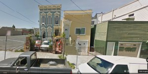 Google Street View from May 2011.  This is the area in which the arrest was made.