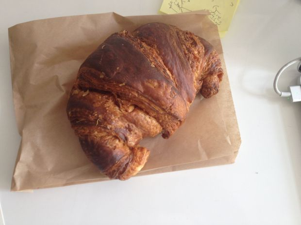 The croissant from Knead Patisserie