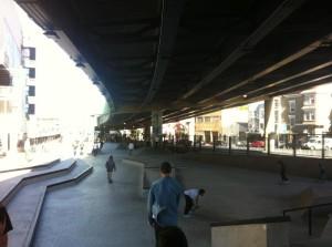 The new skatepark. By Kyle Destiche