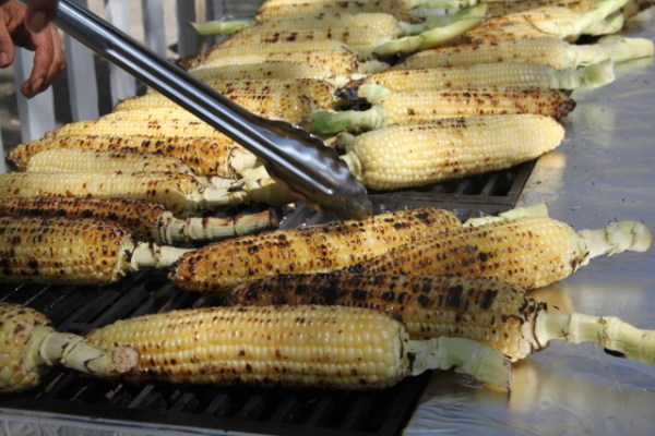 "Elote from Lugo. Zigas challenged us to ""lay it out against any other high end restaurant."" Photo by Joe Rivano Barros."