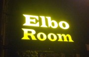 Elbo Room sign. Photo by Daniel Hirsch.