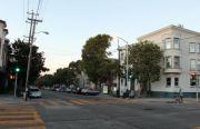 Las calles 22 y Bryant, cerca del hostal para programadores