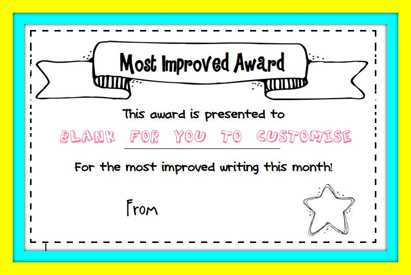 most improved award meaning - Onwebioinnovate