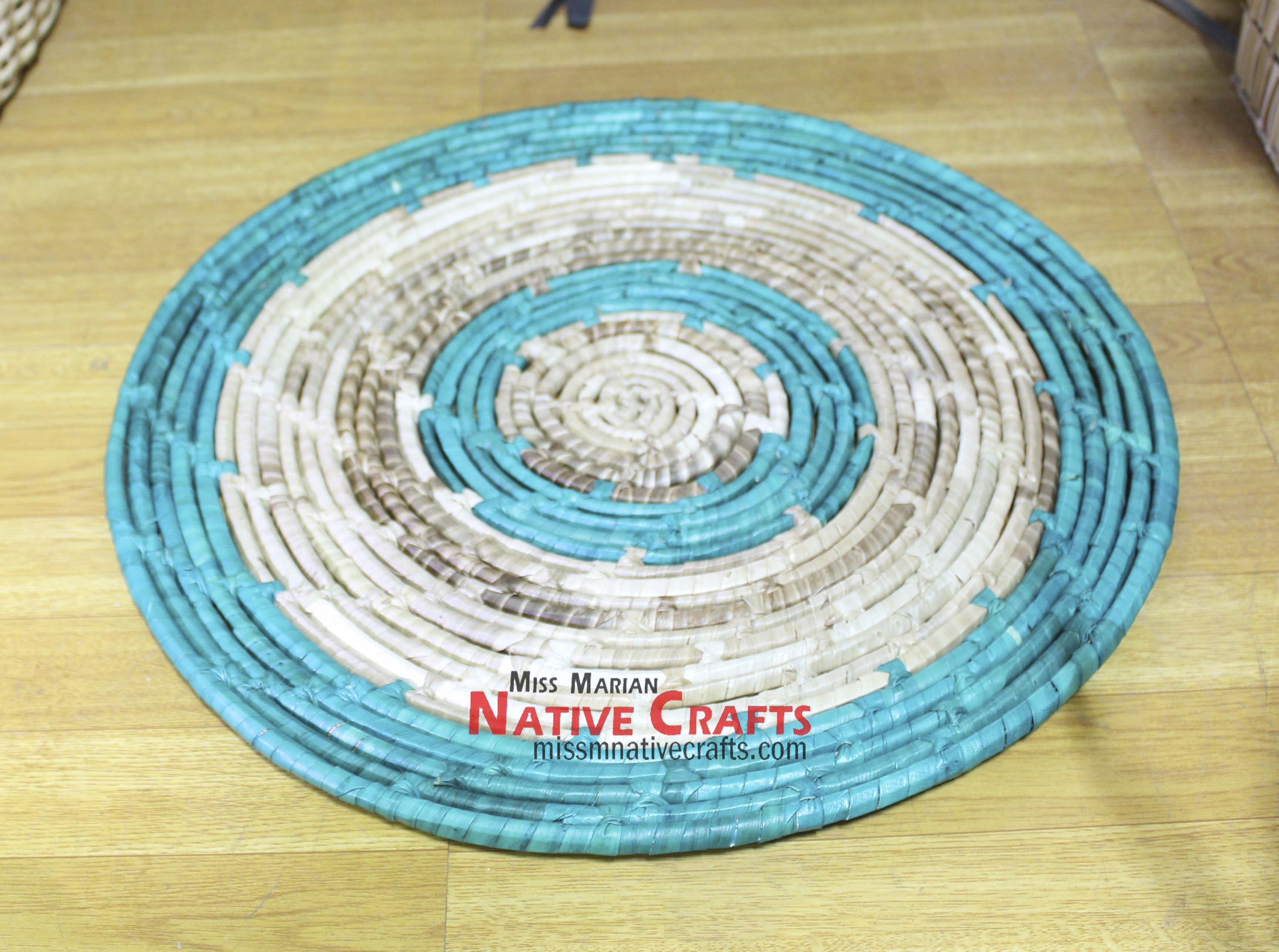 Large Coasters Lauhala Large Coaster With Colors