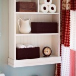 Cottage Bathroom Shelf