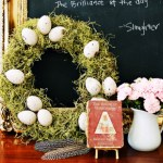 Egg & Moss Wreath
