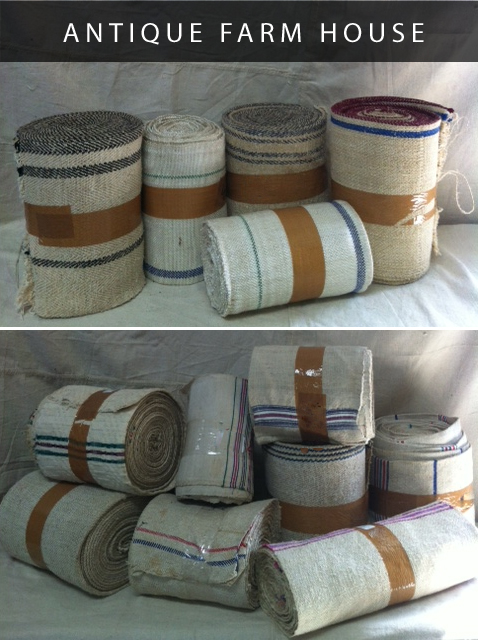 grain-sack-fabric-rolls-antique-farmhouse