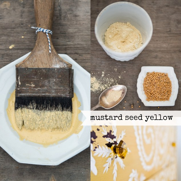 Mustard Seed Yellow Collage