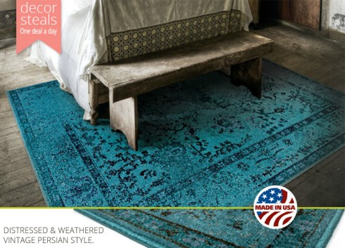 distressed-rug