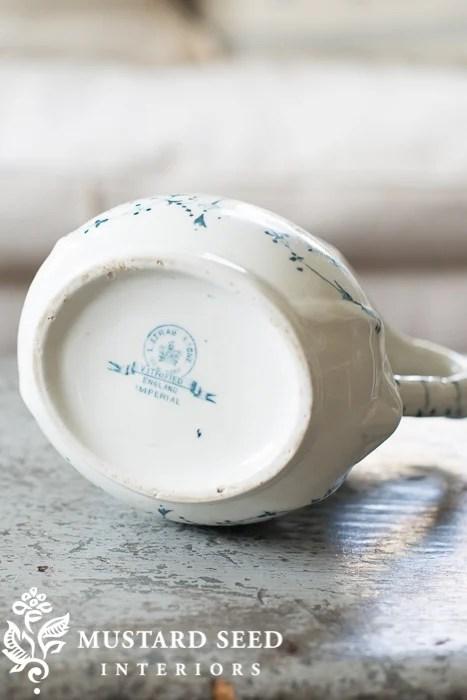 ironstone hallmark | blue & white